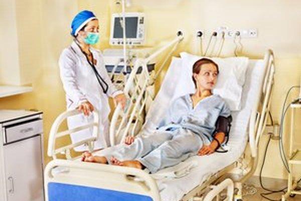 Pacienti v nemocnici, Na starostlivosť sa oficiálnou cestou sťažuje nízke percento.