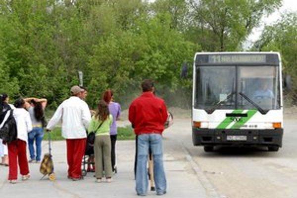 Lunik IX. Incident sa odohral v autobuse linky 11.