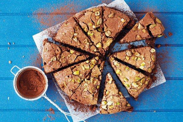 Brownies s pistáciami