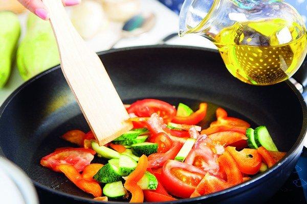Olivový olej je vždy dobrá voľba.