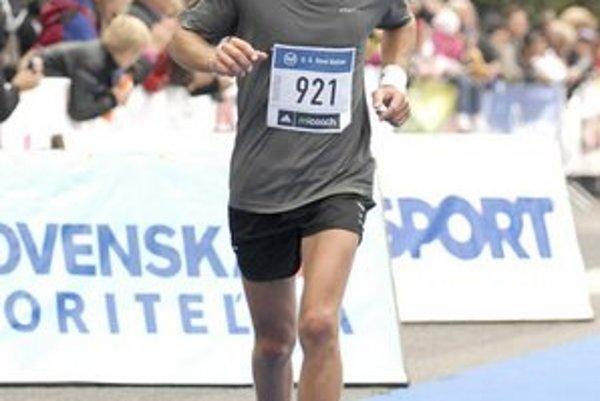 Roman Rokytka si urobil veľmi slušný osobný rekord - 3 hodiny a 47 minút.