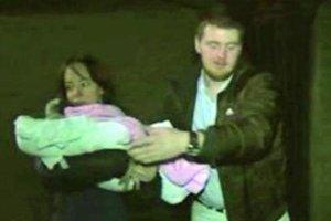 Rodina z Košíc. Do Košíc prileteli včera v noci.