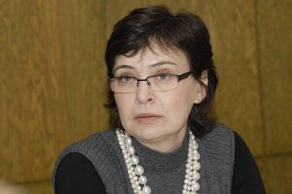 Kandidátka na predsedu SDKÚ Lucia Žitňanská.