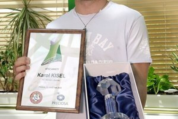 Východniar sa stal najlepším zahraničným hráčom v českej futbalovej Gambrinus lige v sezóne 2004/2005.
