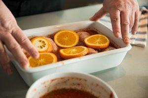 Kurča v pomarančovo-pivnej marináde
