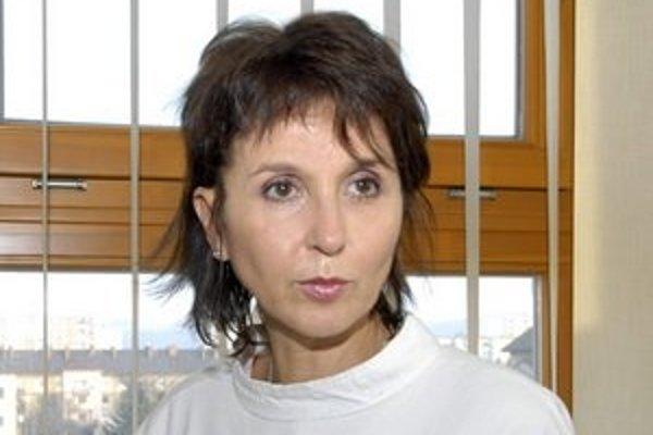 Nataša Džunková, riaditeľka onkoústavu.