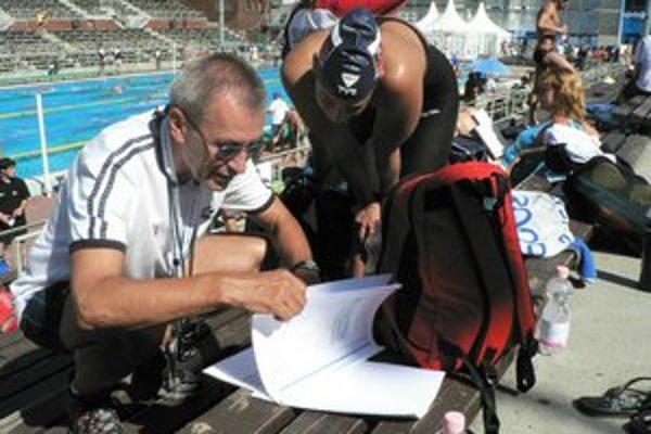 Kujú plány. Z. Mimovičová a jej tréner J. Skála myslia na ďalšie méty.