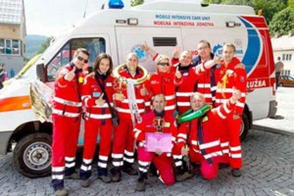 Košickí záchranári brali medzinárodné ceny