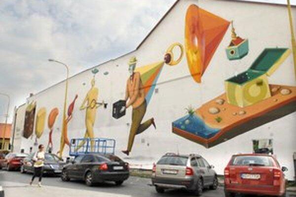 Vlaňajšie maľby vzbudili rozruch. Tento rok organizátori sľubujú bezproblémový priebeh.