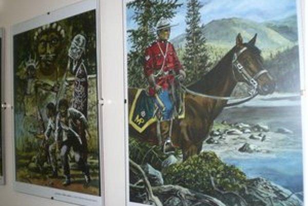 J. Hora vystavuje v Košiciach 33 ilustrácií