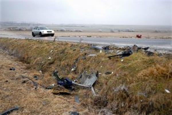 K nehode s tragickým koncom došlo na rovnej ceste.