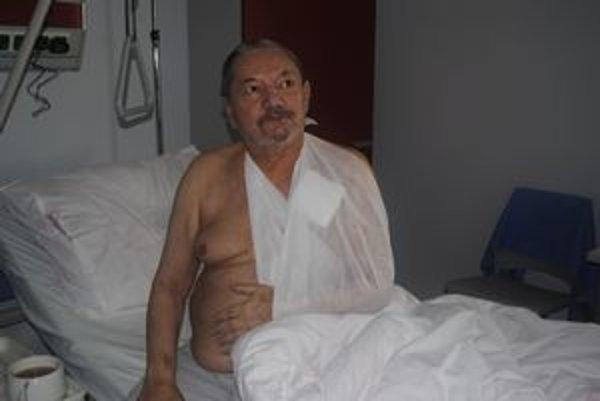 Pacient, Jozef Čatloš prekonal už štyri infarkty.