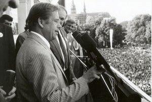Václav Havel v Košiciach.