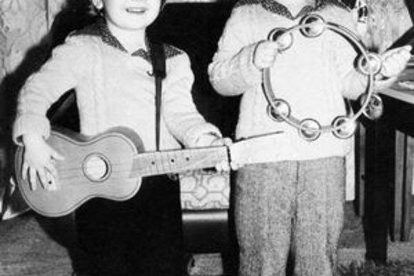Igor s Romanom mali hudobné cítenie už za mlada.