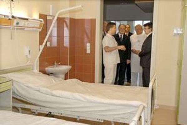 Vynovené priestory. Onkologický ústav ukončil rekonštrukcie.