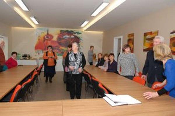 Aktívna staroba. Dôchodcovia v Myslave dostali od mestskej časti priestory na klubovú činnosť.