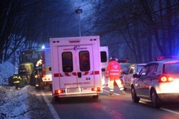 Ambulancia s lekárom. Od apríla ju v Košiciach vystrieda posádka so záchranárom.