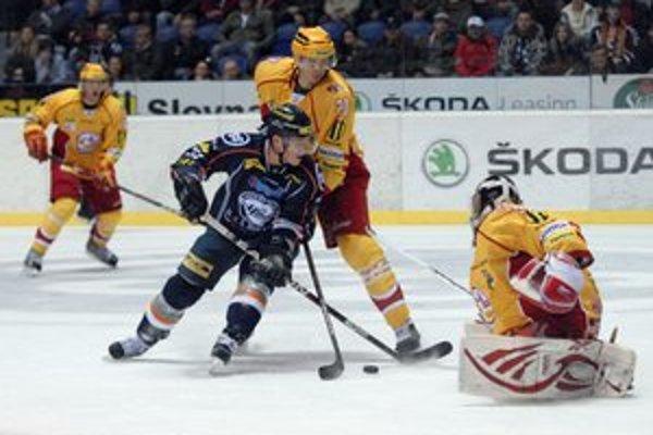 Vladimír Dravecký sa zapísal do streleckej listiny dvakrát.