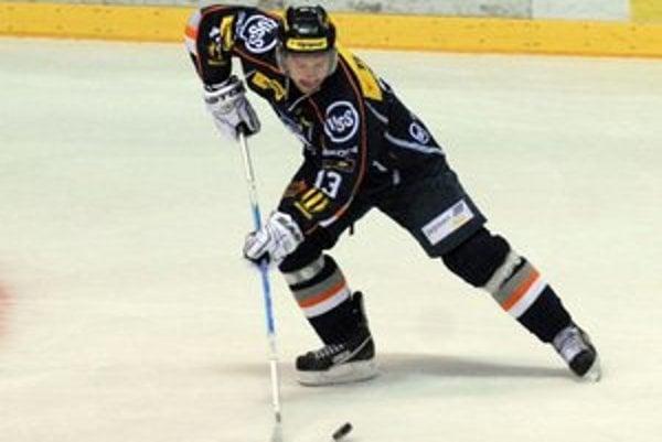 Kapitán HC Košice Miroslav Zálešák.