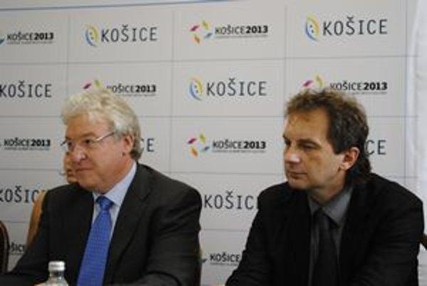 Scheytt a Sudzina. Skúsenosti z Essenu 2010 chcú Košice využiť v roku 2013.
