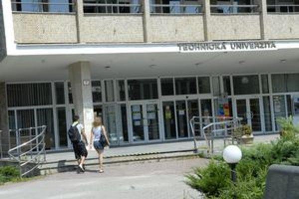 Technická univerzita. Vlani hospodárila so ziskom viac ako milión eur.