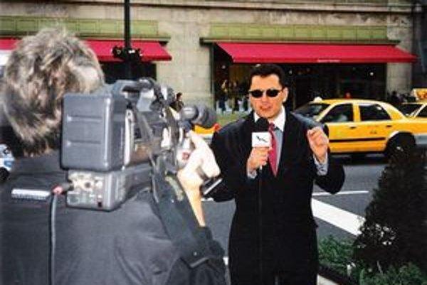 Fotospomienka na spoluprácu v USA pre TV Markíza.