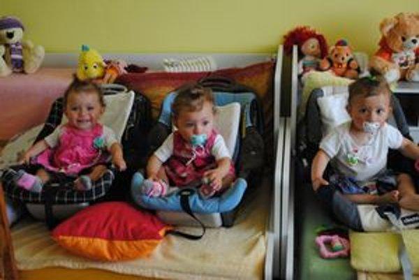 Sestry Lea, Tamara a Sára oslávili prvý rok života.