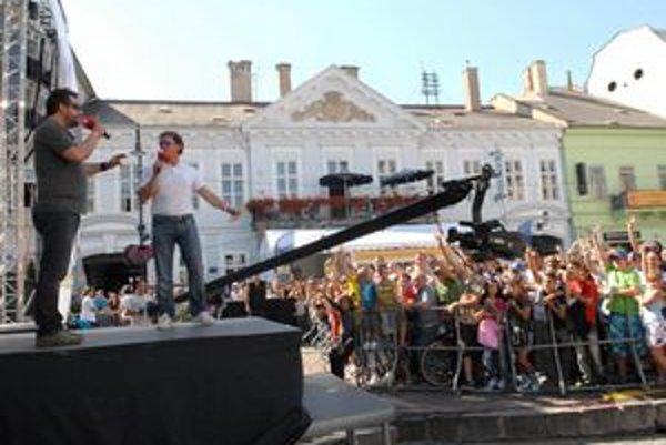 Zábavu si užilo množstvo Košičanov. JOJ-ka v meste pritiahla tisícky ľudí.