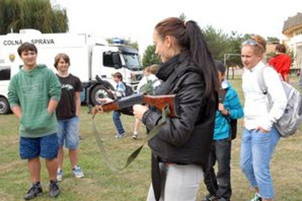 Lákavé. Detváky najviac zaujali zbrane.