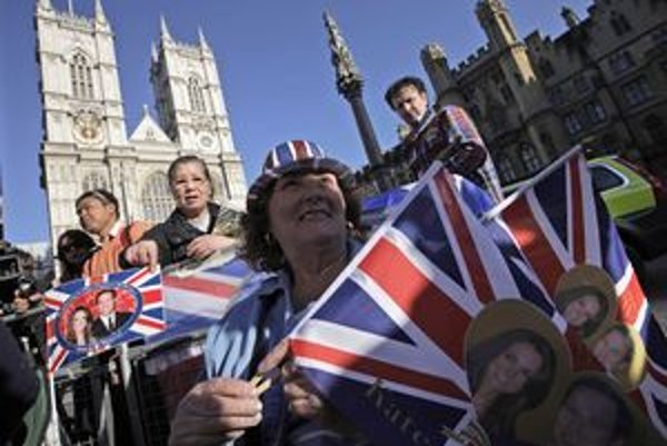 Londýn žije kráľovskou svadbou