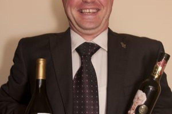 V. Hronský sa venuje vínu už 30 rokov