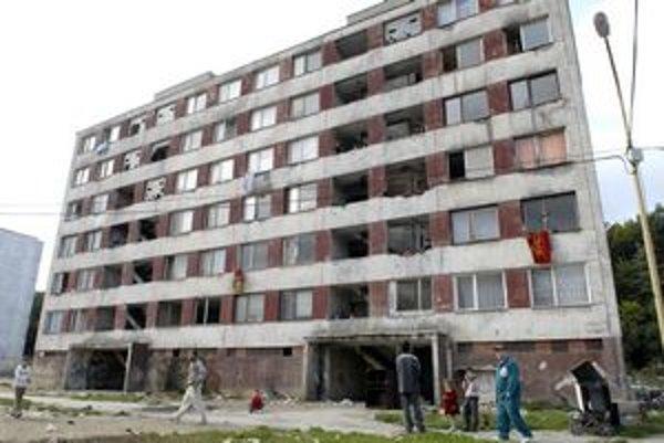 Kvalita bytov na Luniku IX z roka na rok klesá.