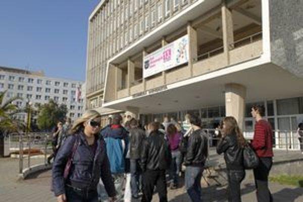 Technická univerzita v Košiciach. Spomedzi košických vysokých škôl je na tom najhoršie.