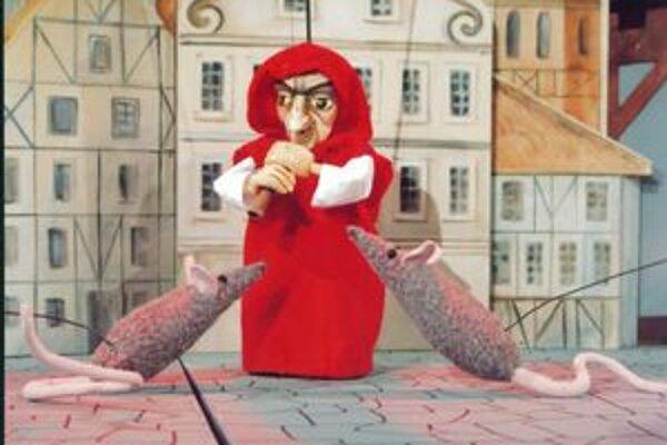 Nielen pre malých. Tvorcovia veria, že inscenácia Potkaniar osloví aj dospelého diváka.