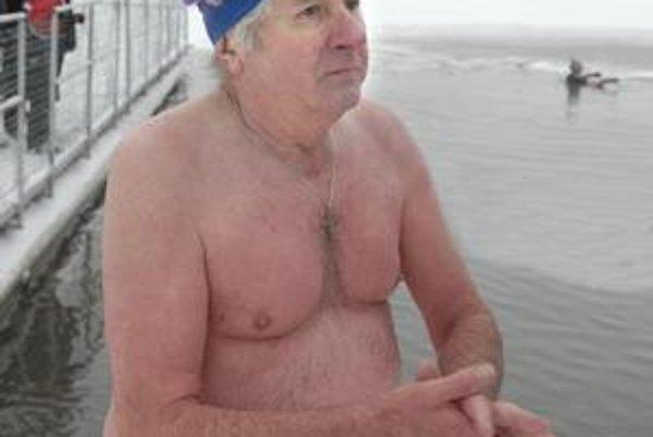 Najstarší tuleň. Michal Sušina má 69 rokov.