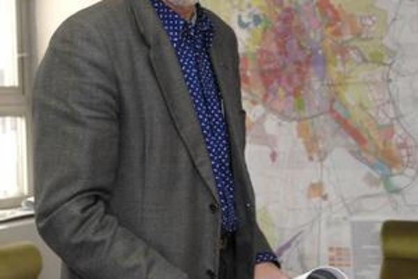 Martin Drahovský. Odchádzajúcemu šéfarchitektovi vyjadrili kolegovia podporu.