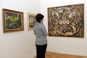 Tvorba záverečného obdobia. Obrazy A. Jaszuscha na výstave sú zapožičané zo súkromných zbierok.