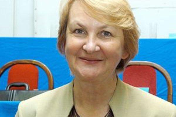 Mária Sabolová. Poslankyni KDH sa nepáčia niektoré nominácie ministra Uhliarika.