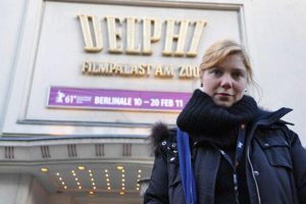 Erika Hníková zožala so svojou snímkou Nesvadbovo úspech na tohtoročnom Berlinale. Teraz príde v rámci Febiofestu do Košíc.