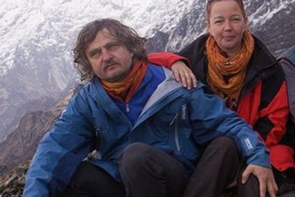 Štefan Szabó s manželkou Silviou.