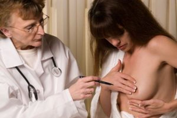 K najčastejším diagnózam patrí karcinóm prsníka.