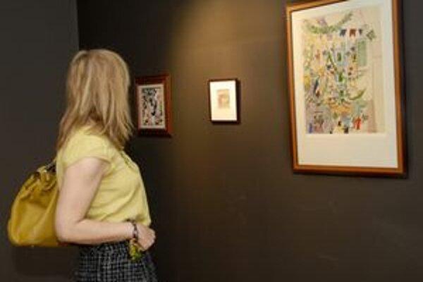 Diela svetoznámych výtvarníkov. Do konca mája si ich môžete pozrieť vo Východoslovenskej galérii.