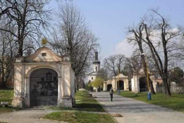Košická kalvária patrí k nakrajším na Slovensku.