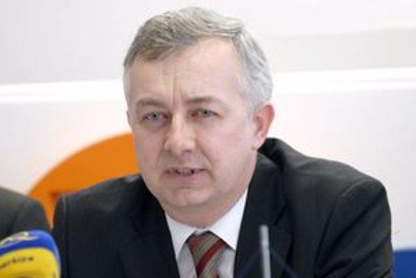 Podpredseda prestavenstva TEKO Ján Huraj. Musí si nájsť byt.