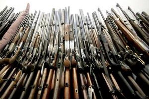 Na Slovensku sa v druhom kole zbraňovej amnestie vyzbieralo 4 368 zbraní.