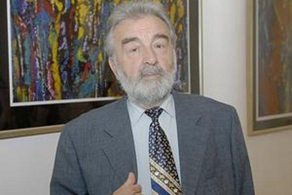 Oslávenec. Michal Hajnal má v Košiciach paralelne dve výstavy.