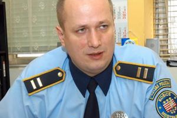 Zástupca náčelníka MsP Slavomír Pavelčák.