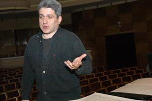Peter Breiner. Bude dirigovať symfonický koncert, na ktorom zaznejú skladby troch slovenských skladateľov.