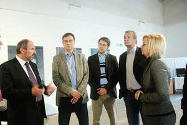 Minister si pozrel Kulturpark, ktorý je investičnou prioritou tímu.