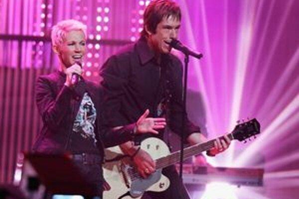 Marie Fredriksson a Per Gessle sa zastavia počas turné aj v Košiciach.